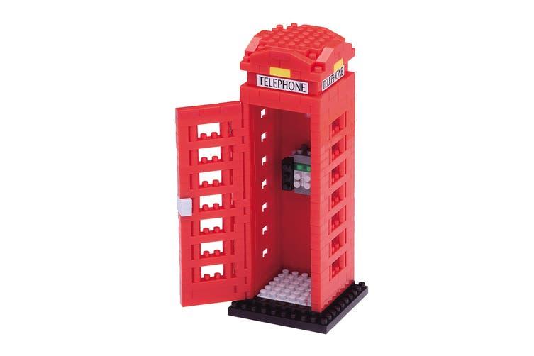 Nanoblock Telephone Box