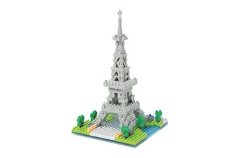 Nanoblock Paris Banks Of The Seine - Eiffel Tower