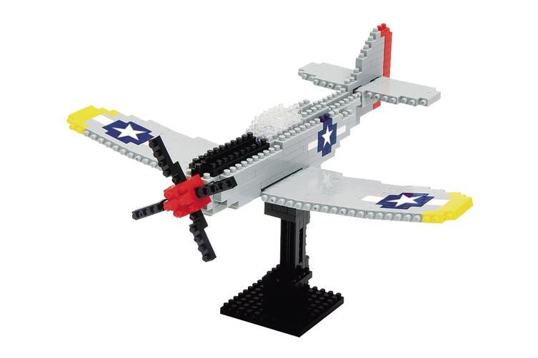 Nanoblock P-51 Mustang