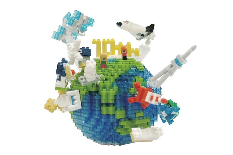 Nanoblock The World