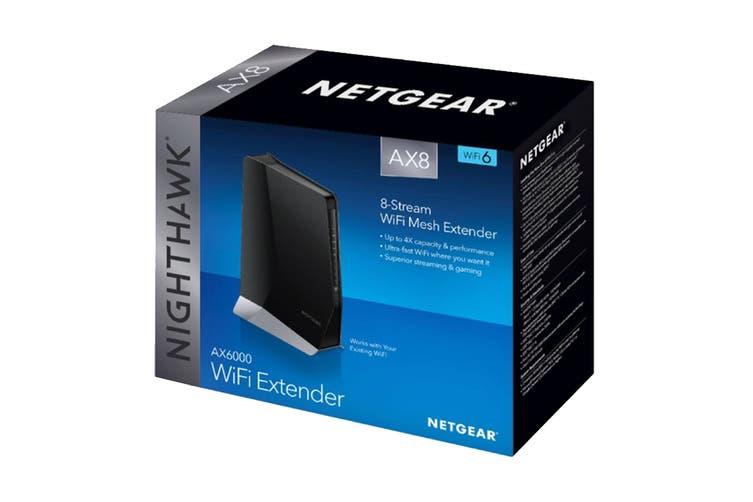 Netgear Nighthawk AX6000 8-Stream WiFi 6 Mesh Extender (EAX80-100AUS)