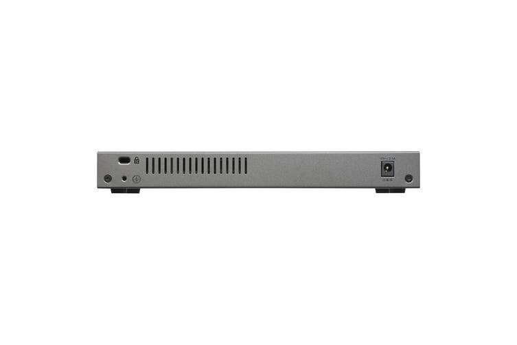 Netgear 8-Port Gigabit Ethernet Smart Managed Plus Switch with 2-Port 10G/Multi-Gig Uplinks (GS110EMX-100AUS)