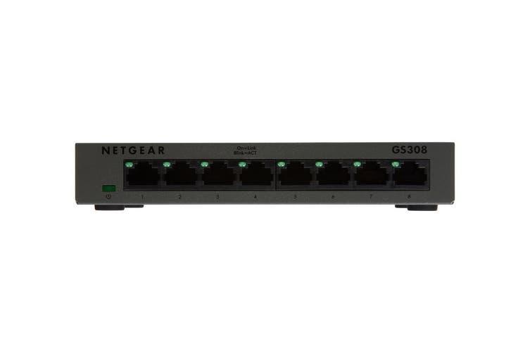 Netgear GS308 Soho 8-Port Gigabit Unmanaged Switch (GS308-100AUS)