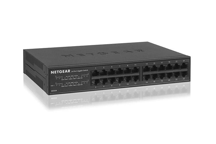 Netgear GS324 Soho 24-Port Gigabit Unmanaged Switch  (GS324-100AUS)