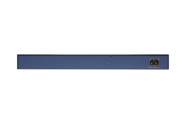 Netgear 24-Port Gigabit PoE + Smart Managed Pro Switch with 2 SFP Ports (GS724TP-200AJS)