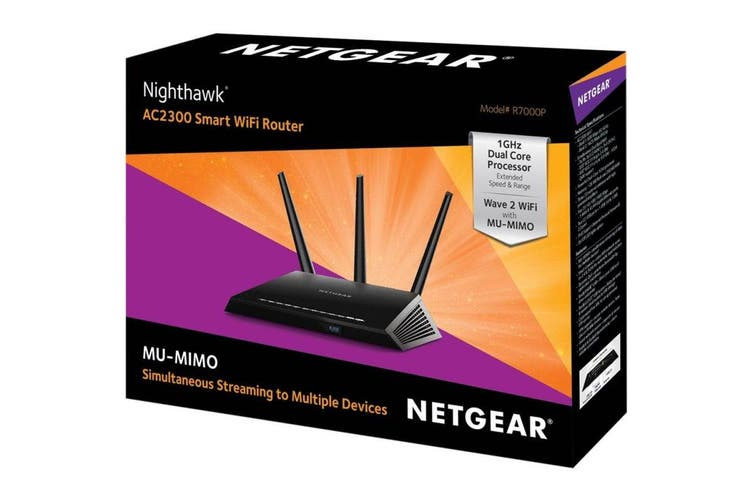 Netgear Nighthawk R7000P Wireless AC2300 Router (R7000P-100AUS)