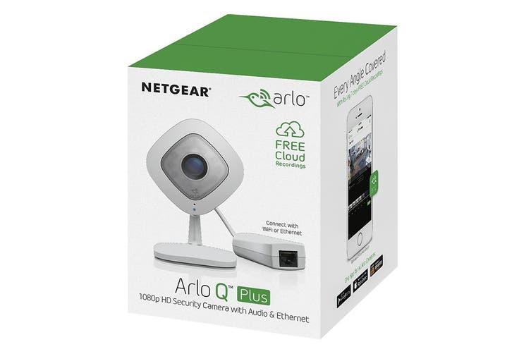 Arlo Q Plus 1080p HD Security Camera with Audio, Ethernet & PoE (VMC3040S-100AUS)