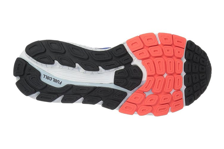 New Balance Men's 1260 v7 Running Shoe - 2E (Pacific/Black, Size 7.5)
