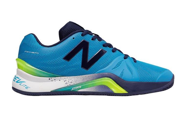 New Balance Men's 1296v2 - 2E Shoe (Blue/Pigment, Size 11.5)