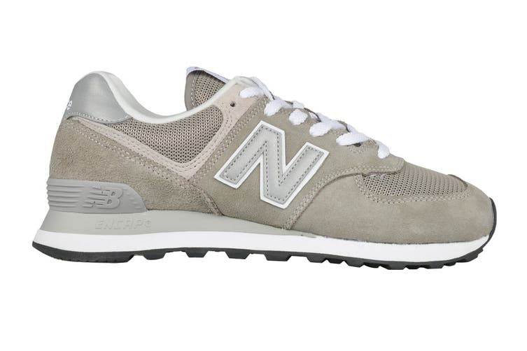 New Balance Men's 574 Shoe (Grey, Size 8)