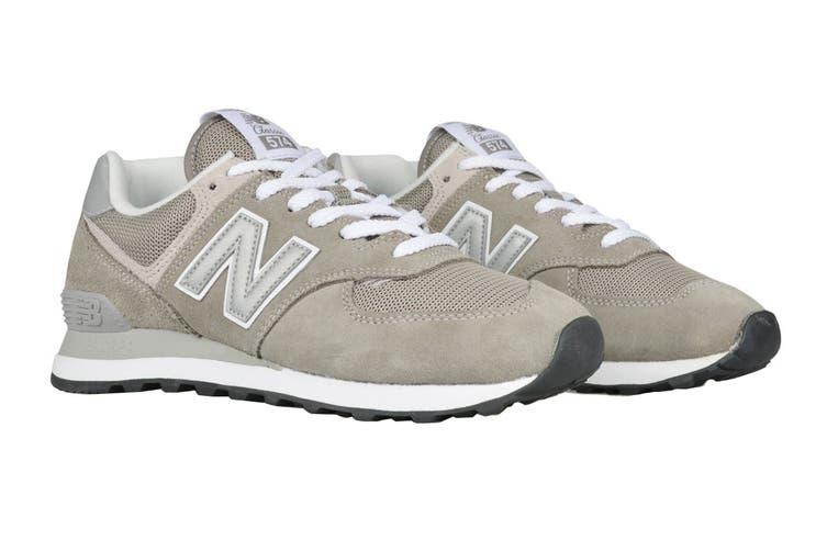 New Balance Men's 574 Shoe (Grey, Size 8.5)