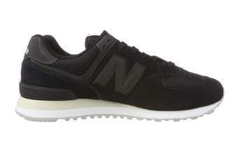 New Balance Men's 574 Shoe (Black)