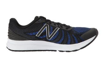 New Balance Women's FuelCore Rush v3 - D Running Shoe (Black/Blue Iris)