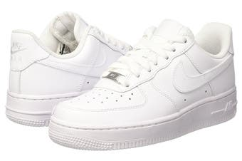 Nike Women's Air Force 1 '07 Low Shoe (White, Size 8 US)