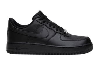Nike Men's Air Force 1 '07 LE Sneaker (Black/Black, Size 8 US)