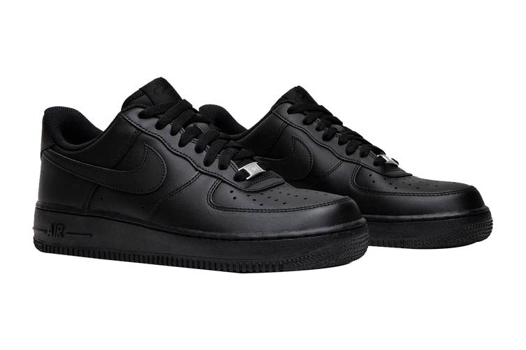 Nike Men's Air Force 1 '07 LE Sneaker (Black/Black, Size 9.5 US)