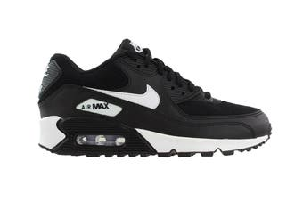 Nike Women's Air Max 90 Shoes (Black/White, Size 6.5 US)