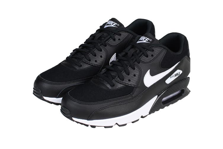 Nike Women's Air Max 90 Shoes (Black/White, Size 6 US)