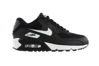 Nike Women's Air Max 90 Shoes (Black/White, Size 7 US)