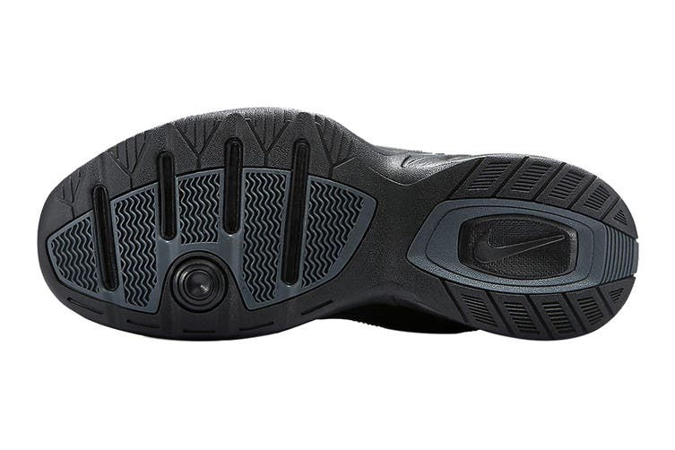 Nike Men's Air Monarch IV Training Shoe (Black/Black, Size 13 US)