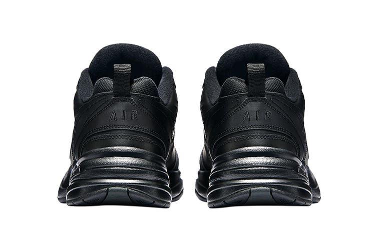 Nike Men's Air Monarch IV Training Shoe (Black/Black, Size 14 US)