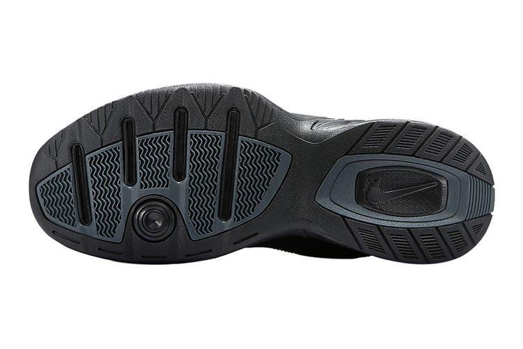 Nike Men's Air Monarch IV Training Shoe (Black/Black, Size 6 US)