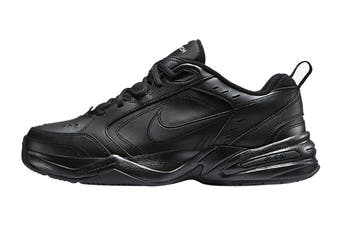 Nike Men's Air Monarch IV Training Shoe (Black/Black, Size 8 US)