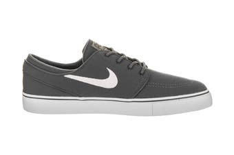 Nike Men's SB Zoom Stefan Janoski Canvas Shoe (Dark Grey/White, Size 8.5 US)