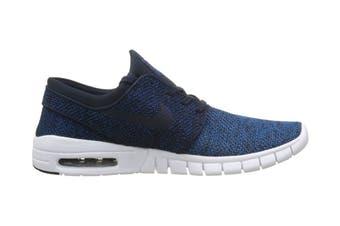 Nike Men's SB Stefan Janoski Max Shoe (Industrial Blue/Obsidian, Size 7.5 US)