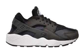 Nike Women's Air Huarache Run Sneaker (Black/White, Size 9.5 US)