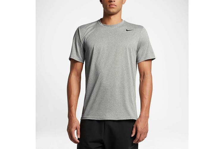 Nike Men's Ledgend 2.0 Dri-Fit Tees (Grey, Size S)