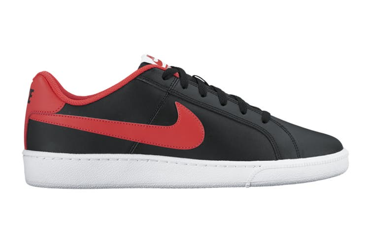 Nike Men's Nike Court Royale Sneaker (Black/Action Red/White, Size 10.5 US)