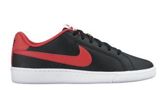 Nike Men's Nike Court Royale Sneaker (Black/Action Red/White, Size 9.5 US)