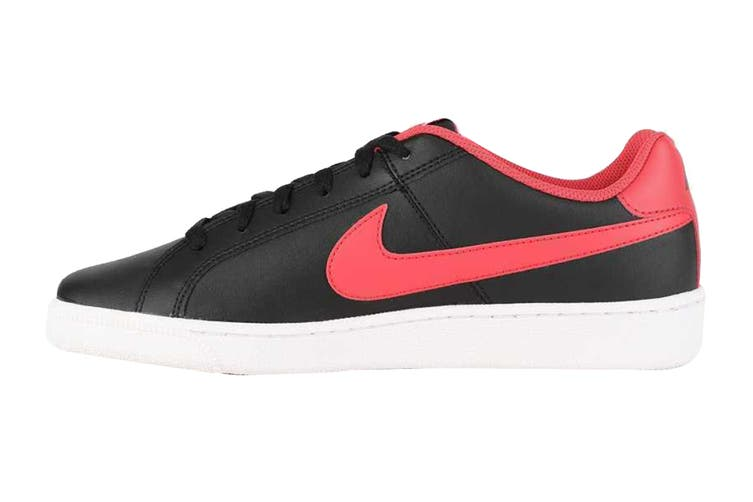 Nike Men's Nike Court Royale Sneaker (Black/Action Red/White, Size 9 US)