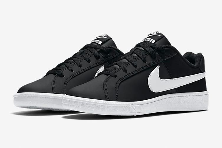 Nike Women's Nike Court Royale Sneaker (Black/White, Size 10 US)