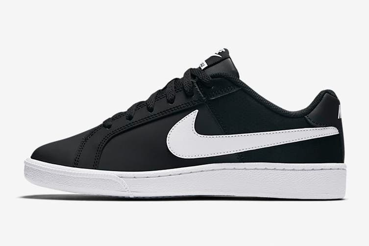 Nike Women's Nike Court Royale Sneaker (Black/White, Size 6 US)