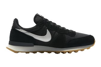 Nike Women's Internationalist Shoe (Black/Summit White/Anthracite/Sail/Gum Light Brown, Size 10 US)