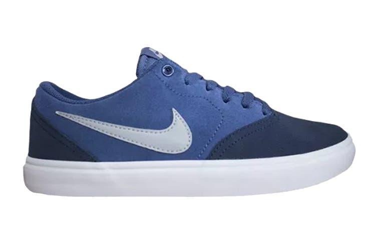Nike Men's SB Check Solar Shoes (Blue/White, Size 8.5 US)