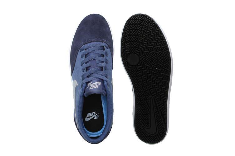 Nike Men's SB Check Solar Shoes (Blue/White, Size 9.5 US)