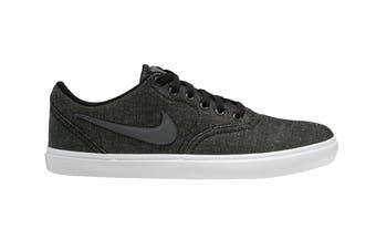 Nike Men's SB Check Solar Canvas Shoes (Grey, Size 10 US)