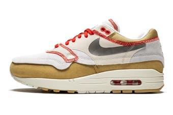 Nike Men's Air Max 1 Sneaker (White, Size 8.5 US)