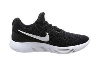 Nike Women's LunarEpic Low Flyknit 2 Running Shoe (Black/White/Anthracite, Size 5.5 US)