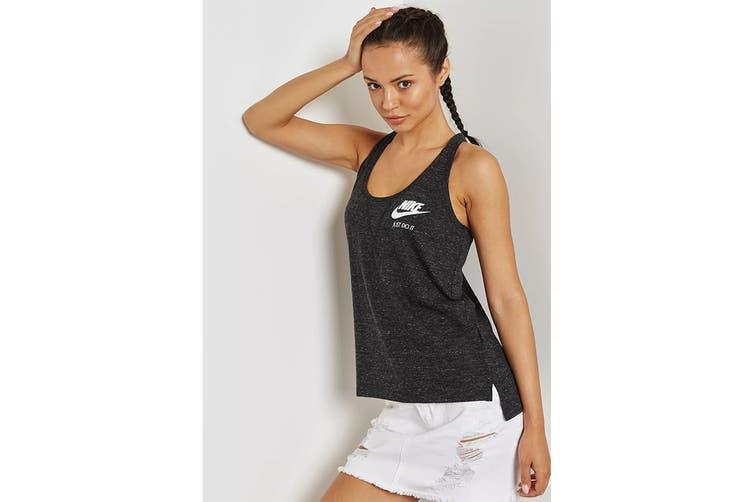 Nike Women's Sportswear Gym Vintage Tanks (Black, Size L)