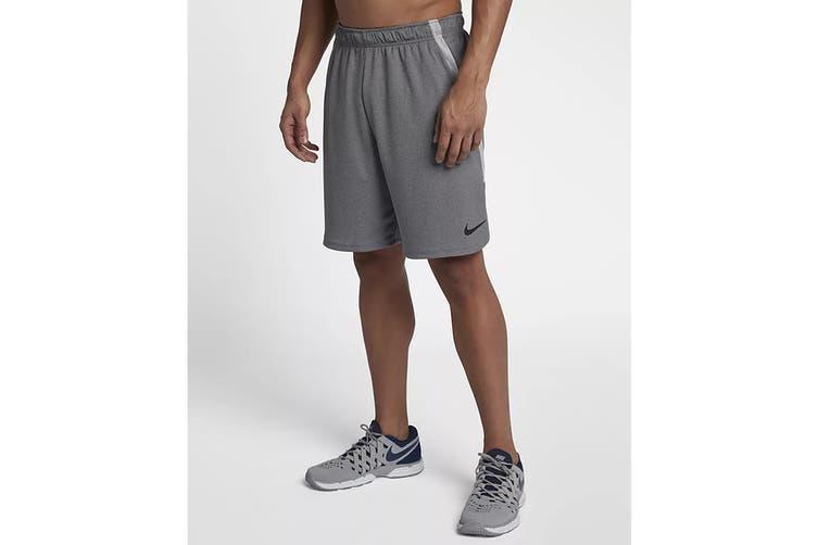 Nike Men's Dry Shorts 4.0 Shorts (Grey, Size M)