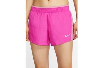 Nike Women's 10K Short (Fire Pink/Magic Flamingo, Size M)