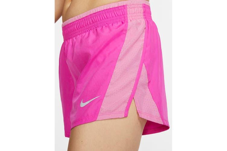 Nike Women's 10K Short (Fire Pink/Magic Flamingo, Size S)