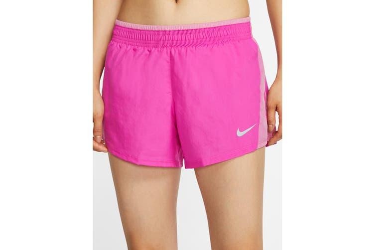 Nike Women's 10K Short (Fire Pink/Magic Flamingo, Size XS)