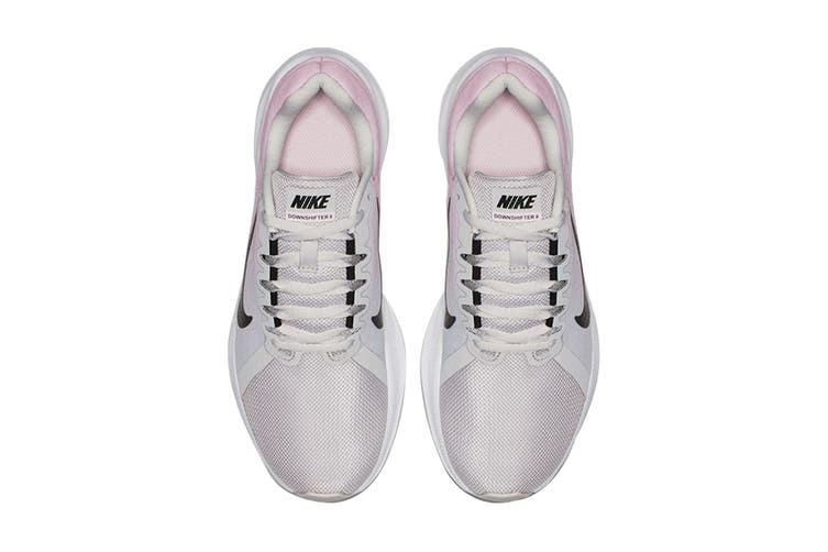 Nike Women's Downshifter 8 (Grey/Pink, Size 6 US)