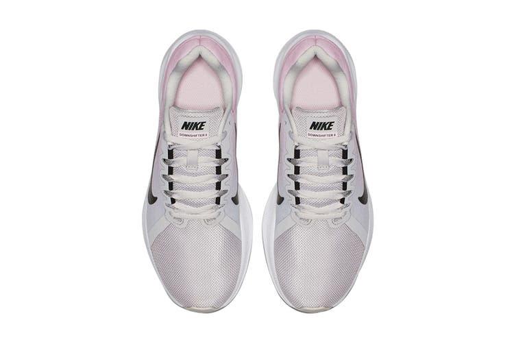 Nike Women's Downshifter 8 (Grey/Pink, Size 9.5 US)