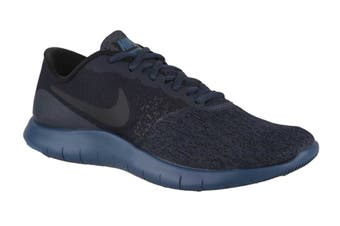 Nike Women's Flex Contact Running Shoes (Armory Navy/Black Blue Force)